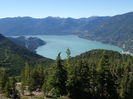 Squamish, Canadá: near the top