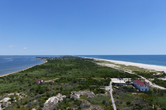Fire Island Lighthouse: view from the top
