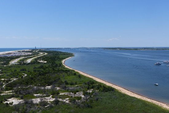 Fire Island, NY: view from the top