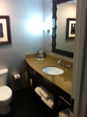 DoubleTree by Hilton Austin - University Area: Nice Bath