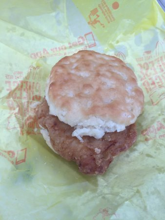 East Ellijay, Geórgia: Buttermilk Chicken Biscuit