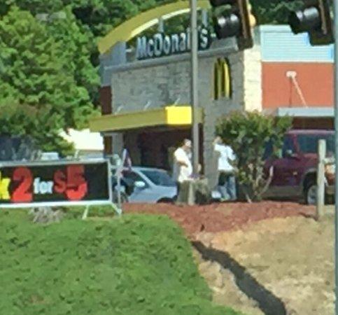East Ellijay, GA: McDonald's