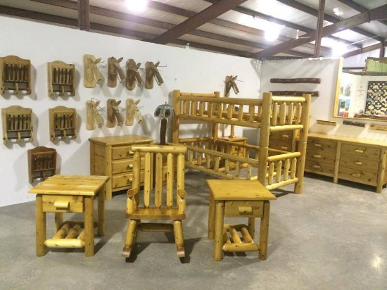 Westfield, NY: Amish furniture in building 3