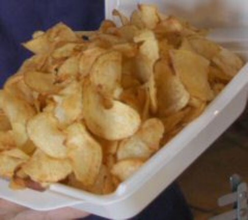 Γουέστφιλντ, Νέα Υόρκη: Papillon Potatoes available at the Snack Shack in building 2