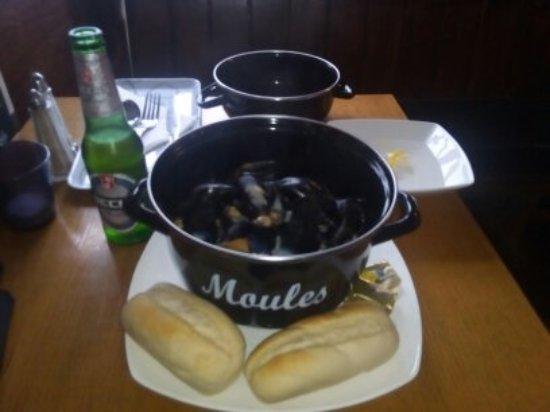 Lochearnhead, UK: mussels