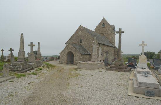 Jobourg, Francúzsko: la chiesa