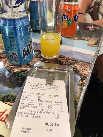Province of Toledo, Hiszpania: La factura de la luz