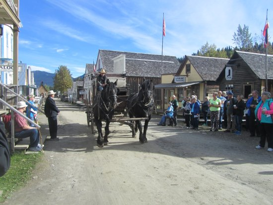 Barkerville Historic Town: stage coach