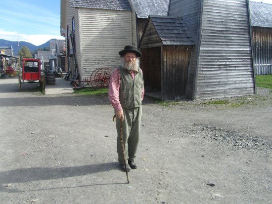 Barkerville Historic Town & Park: the one and only Billy Barker