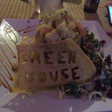 Greenhouse Cafe Dorado: Seafood mofongo
