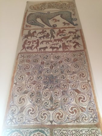 Rosemarkie, UK: Groam House Museum Tapestry