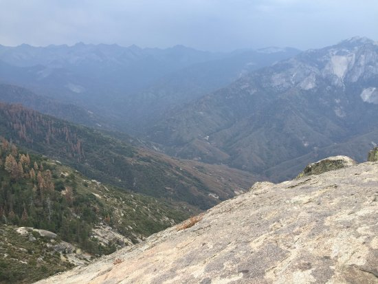 Dorst Campground: View from Moro Rock