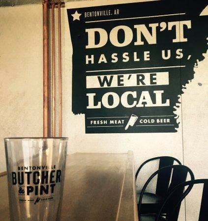 Bentonville Butcher & Pint: Community restaurant and bar.