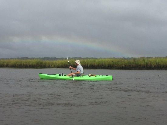 Sunset Beach, Caroline du Nord : Beautiful Rainbow
