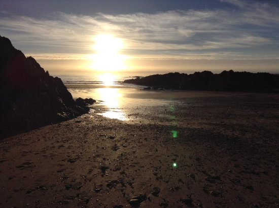 Rhosneigr, UK: Lovely Sunset