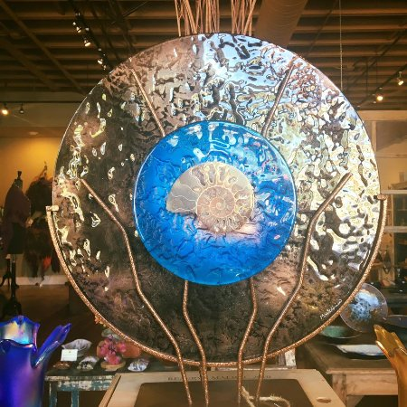 Handcrafted Solana Beach Sculpture