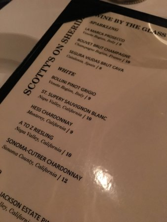 Highwood, IL: Great wine list and full bar