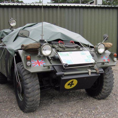 Newborough, UK: Military vehicles