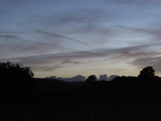Knighton, UK: After dark