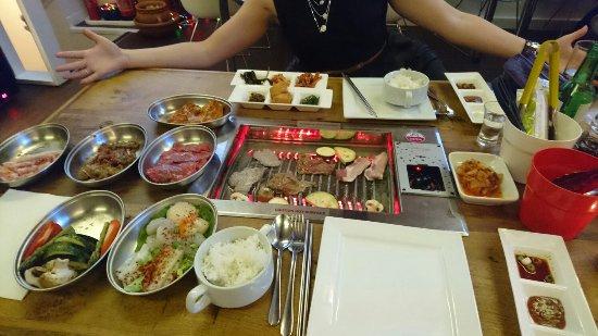 oshibi food galore korean bbq at its best