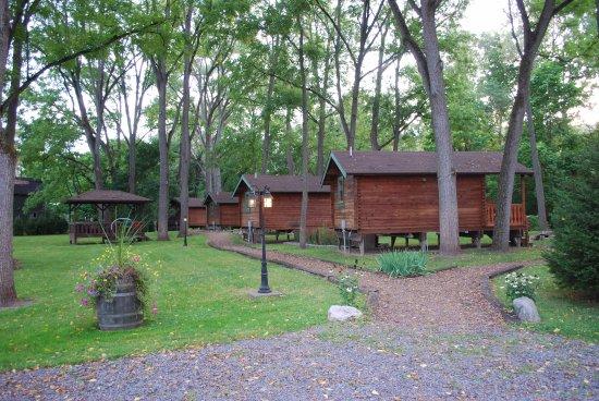 Montour Falls, État de New York : Pristine Setting