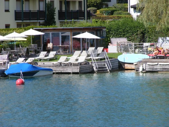 Hotel Furian am Wolfgangsee: Private Beach Area