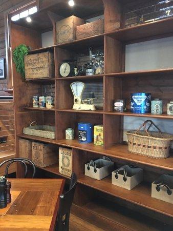 Burrawang, Avustralya: Rustic setup