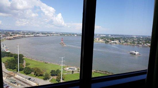 ذا ويستن نيو أورليانز كانال بلاس: 21st floor view