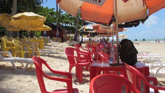 Cabana Mare Mansa : Barraca Maré Mansa - praia dos Coqueiros - Trancoso