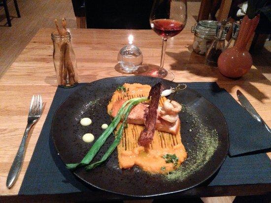 Radstock, UK: salmon fillet!