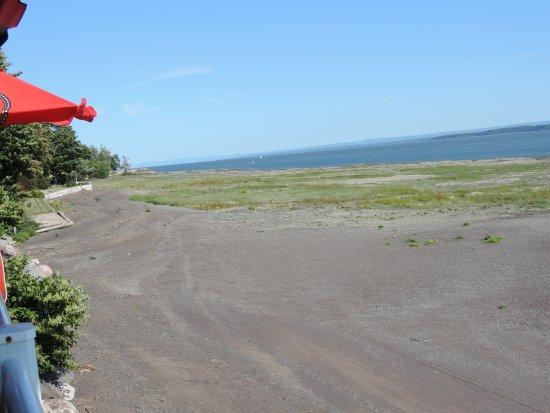 Resto de la Plage: View from the deck