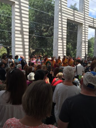Telfair Museums Jepson Center: the monks