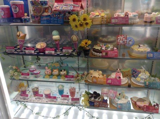 Kariya, Japan: サーティワンアイスクリーム刈谷オアシス店 商品サンプル