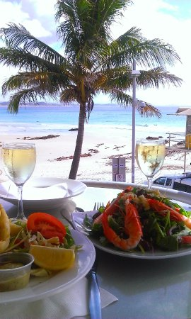 Snapper Rocks: Our Delicious Lunch!