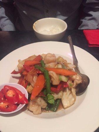 Tongue Thai'd: Garlic Chilli Prawns