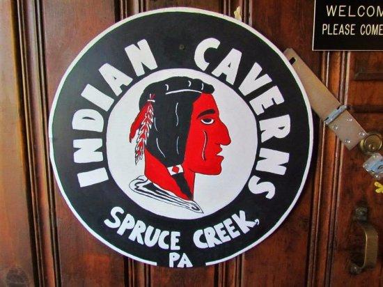 Spruce Creek, Pennsylvanie : The sign on the door.