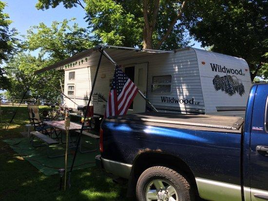 Waterville, MN: Campsite