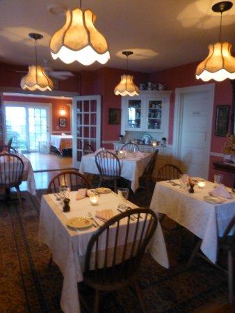 Pentagoet Inn Restaurant : Dining room at the Baron at the Pentagoet Inn