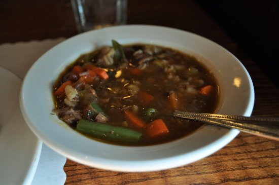Sherrill, Айова: Beef barley soup