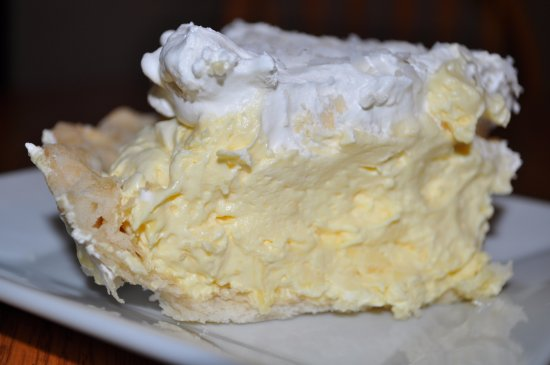 Sherrill, IA: Coconut Cream Pie