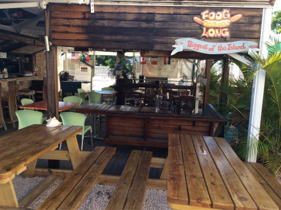 Cupecoy Bay, St-Martin / St Maarten : Fat Tony's