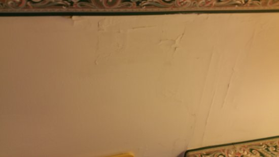 Prospect Harbor, ME: Room S3, wall paint.