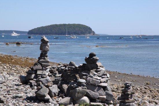 Land Bridge to Bar Island: from bar island