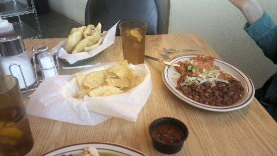 Las Vegas, NM: Tamales plate