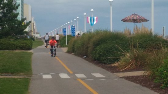 Virginia Beach Boardwalk Bike Path