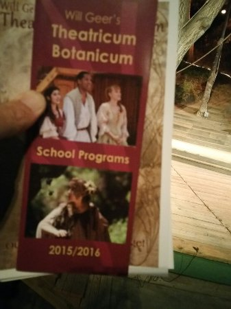 Watching a Midsummer Night's Dream at the Theatricum Botanicum in Topanga Canyon
