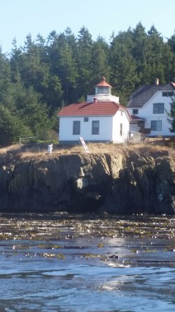 Roche Harbor, WA: Lunch at the historic lighthouse