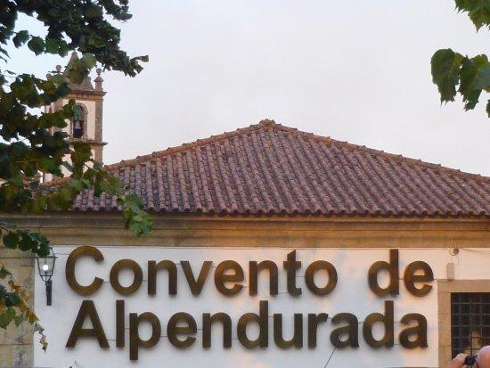 Alpendurada e Matos, Portugal: Hotel Signage