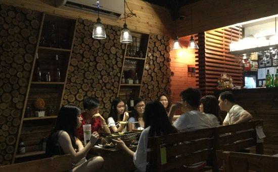 Metro Manila, Filipinas: Restaurant View
