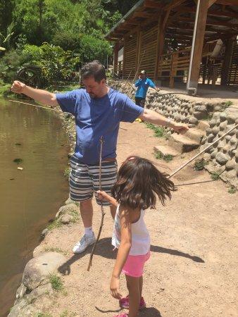 Tandayapa, Ekvador: Un día divertido!!! Realmente esta gente sabe hacer negocio. Muy bien tratados, un lugar limpio,